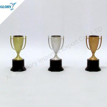 Wholesale Cheap Small Plastic Trophies Cup Awards