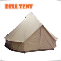5M canvas sewn-in groundsheet bell tent sibley tent