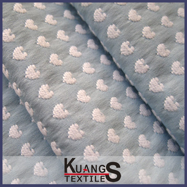 wholesale cotton fabric of jacquard