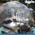 Cheap Outdoor Transparent PVC Inflatable Camping Tent Inflatable Bubble Tent