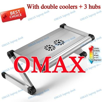 multifunction bed laptop desk with USB fan OMAX A7
