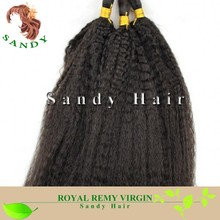 Brazilian Hair Unprocessed Virgin Wet And Wavy Bulk Hair Extension Human Hair