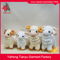 Cute soft lamb plush toy wholesale lamb stuffed toy plush sheep toy