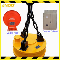 circular 220v AC electric lifting magnet electromagnet for crane