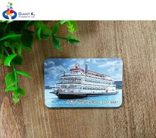 Most popular promotional v ship custom 3d fridge magnet