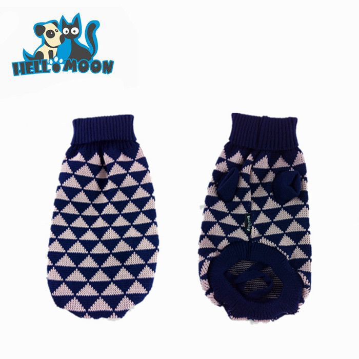 Attractive Cute Fashion Pet Puppy Small Geometric Dog Cat Sweater