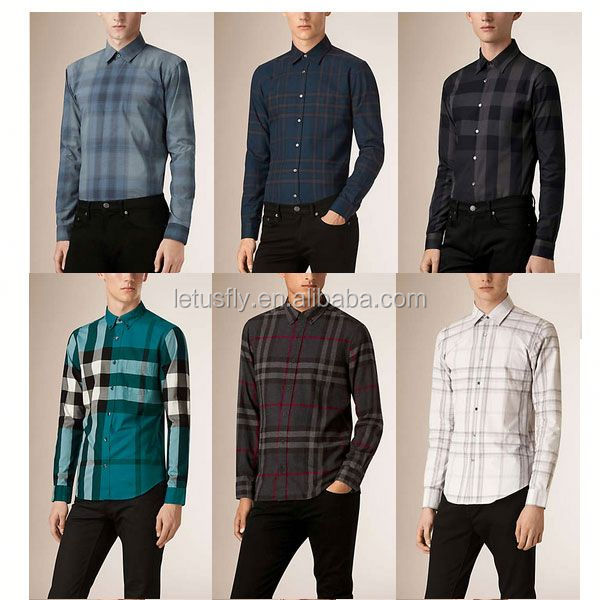Fashion slim fit softtextile latest formal shirt designs for men in china