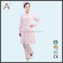 Cheap TC Fabric Female Medical Coverall