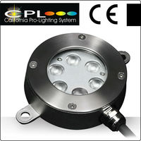 Hot sales High quality 6x3W RGB plastic led swimming pools light