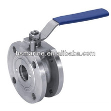 3 Inch Stainless Steel Wafer Type Ball Valve