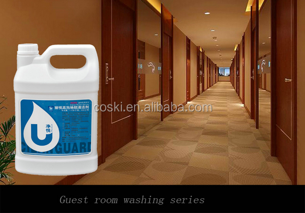 Multifunctional hotel cleaning equipment with carpet cleaner liquid