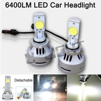 6400lm 70w led head light bulb for car motorcycle 9006 high quality led head light