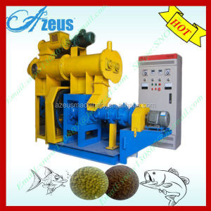 Compact structure DGP70 floating fish feed pellet extruder machine