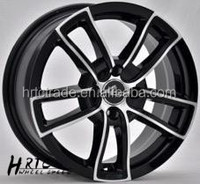 Hot-sell hyber silver aftermaket car alloy rims 18 inch export to UK