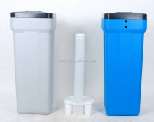 Poly plastic water softener with brine tank