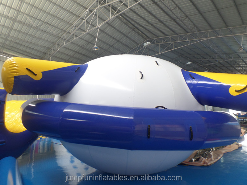 large inflatable disco boat for towable water tube,custom inflatable saturn top