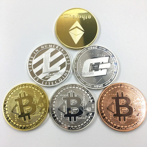 custom gold metal commemorative bit bitcoin coin