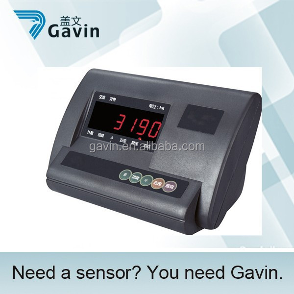 counting function digital load cell indicator
