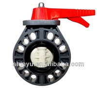 Plastic Butterfly Valve - Universal Type