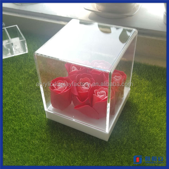 2016 Wholesale Custom Acrylic Model Display Case / Manufacturer Supplier Acrylic Display Gift Box