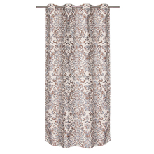 Beautiful luxury jacquard drapes ready made shower curtain