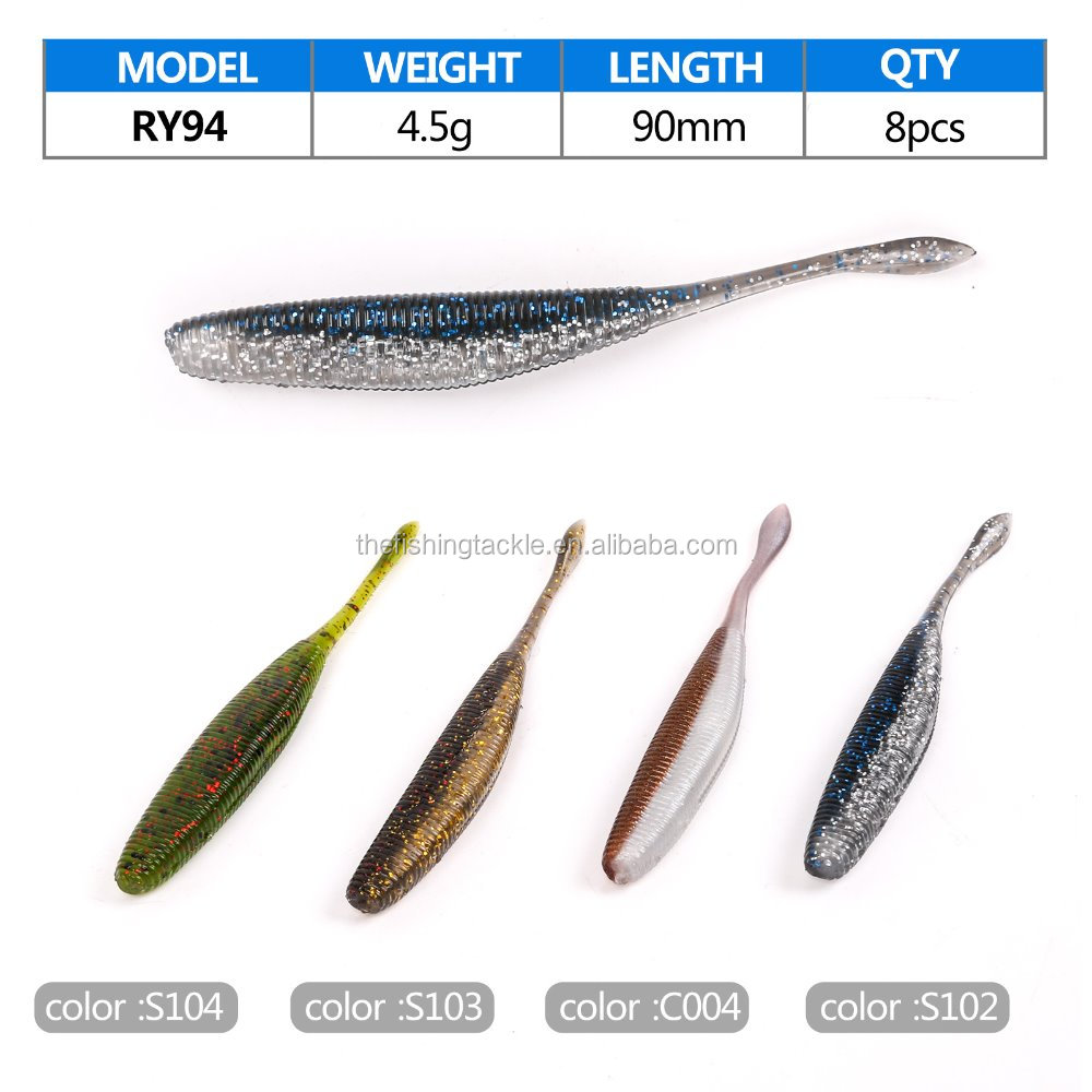 Soft fishing lure free fishing tackle samples