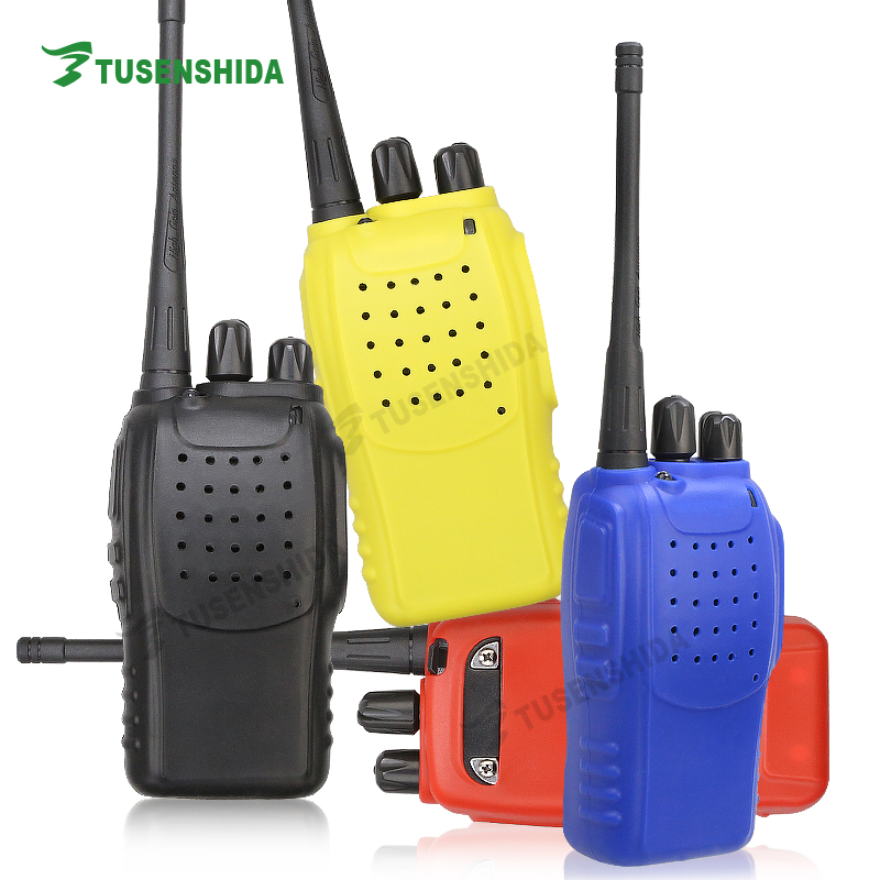 Soft Rubber Case for Handheld Walkie Talkie Cover Baofeng BF-666S