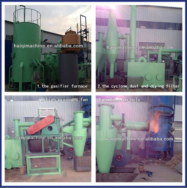 biomass gasification small biomass gasifier for family use city waste agriculture waste rice husk