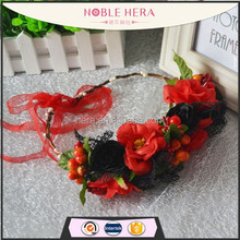 The beach fashion artificial fruit garland crystal beaded garland