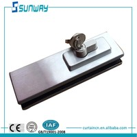 glass fastener hardware, frameless glass sliding door hardware