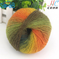Millions of Good Feedback Island Wool Hand knitting Yarn for Crochet Knitting Of Scraf Shawl Hat Sweater With Gradient Color