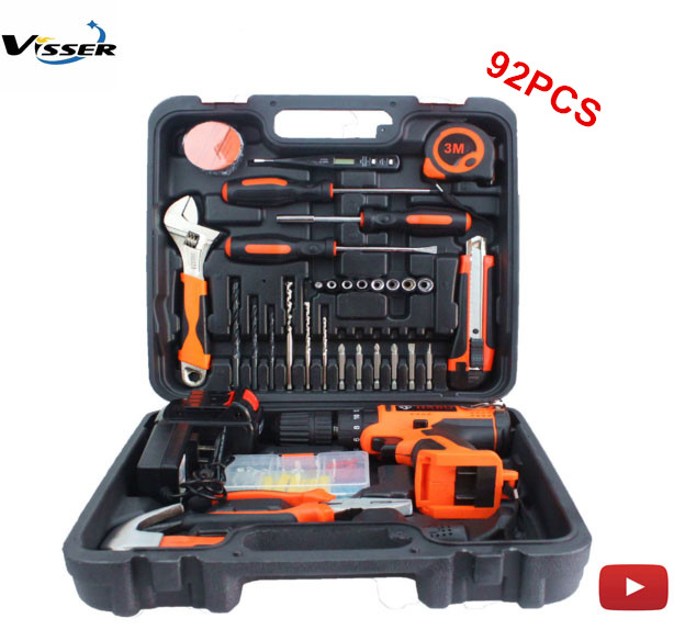 Selling 18v impact cordless electric hammer drill power tool set