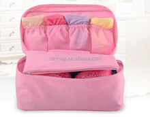 Multi-function Nylon Travel Underwear Bra Organizer Pouch Cosmetic Makeup Storage Bags Toiletry Bag cases