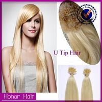 Hot Sale! Best Quality U/I/V Tip Hair Extension,Wholesale 100% Unprocessed Brazilain Hair Weave, Cheap Virgin Aliexpress Hair