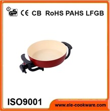 Electric commercial copper bottom stainless steel fry pan