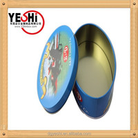 Fancy customized cookie packaging biscuit tin box