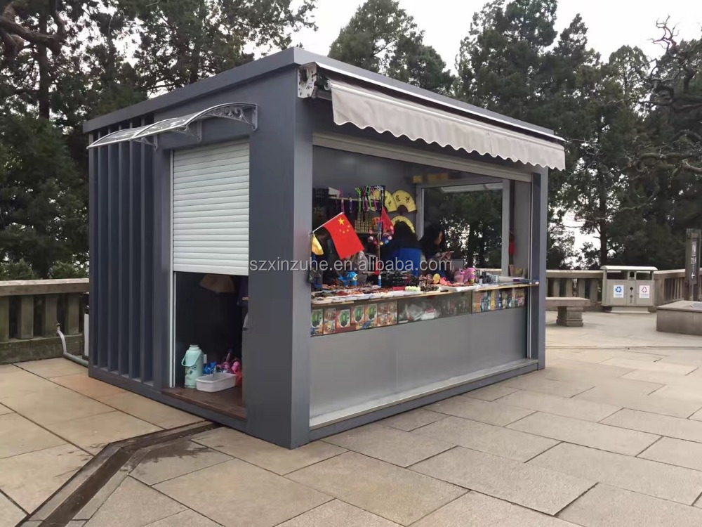 20 feet outdoor container shopping house shopping container house