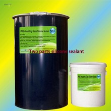 Two Compounds Silicone Sealant For Insulating Glass High Elasticity Glue With Cheap Price
