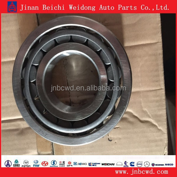 Jiefang truck used parts 7313E inner front wheel hub bearing, bearing for heavy truck