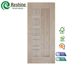 China Natural Ash HDF Veneer Door Skin