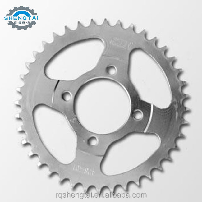 Hot sale good quality motorcycle chain and sprocket kits