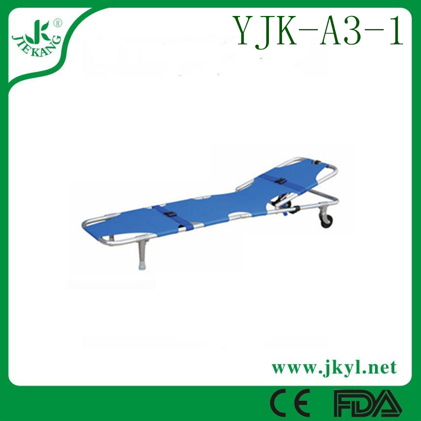 YJK-A3-1 Light weight portable of lifting icu foldaway stretcher