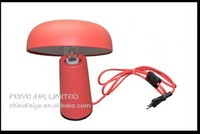 2015 new hot model colorful paint of mushroom head style desk lamp