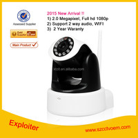 New Arrilval !! Shenzhen Factory Price H.264 P2P WIFI IP Camera Outdoor 2mp IP Camera