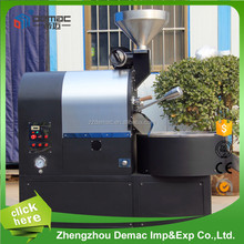 Stainless steel 3 kg gas industrial coffee roaster for sale/high quality coffee roaster