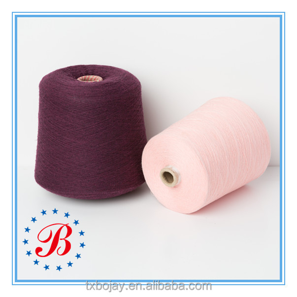 Ne 16/1 100% Cotton Combed Yarn raw white and dyed China supplier