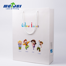 Offset Printing Surface paper bag for children wear