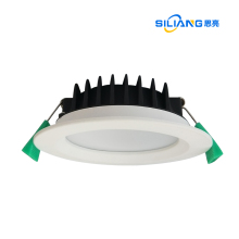 recessed face 90mmcutout 10W CCT changeable led PC+aluminum dimmable <strong>downlight</strong> IC-4 SAA with external driver