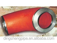 45 degree seamless butt welded alloy steel pipe elbows