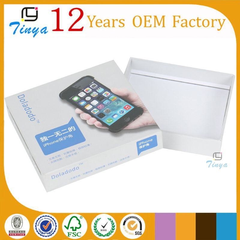 Mobile accessories packaging box wholesale
